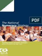 Teaching Mental Calculation Strategies