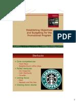 Establishing Objectivesand Budgeting for the Promotional Program