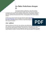 Membuat Toko Buku Sederhana Dengan PHP