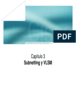 3- Subnetting VLSM