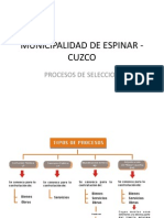 Ley de Contrataciones Municipalidad de Espinar - Cuzco