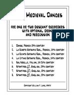 Varios - 8 Danzas Medievales