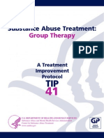 TIP 41 Substance Abuse Treatment Group Therapy 53