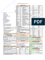 Delphi Quick Reference Guide
