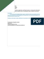 Analisis SWOT Menggunakan Microsoft Excel PAD Parkir