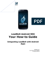 LeadBolt Sdk Guide