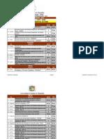 Calendario Universitario Da UEMA 2012_Geoprocessamento