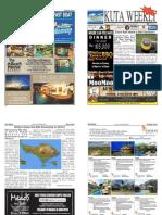 "Kuta Weekly-Edition 371 ""Bali's Premier Weekly Newspaper"""