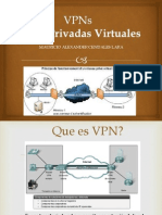 VPNs (Redes Privadas Virtuales)