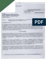 Respuesta de Contraloría a denuncia por parte de veedores sobre corrupción y detrimento patrimonial en administración de Silverio Montaña Montaña