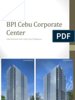 BPI Cebu Corporate Center Presentation by Ciara Navarro
