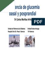 Glucemia Basal y Posprandial