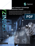 Turning Customer Knowledge into Business Growth