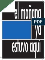 02-EL MAÑANA YA ESTUVO AQUI_hoja de sala