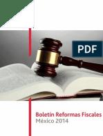 Boletin Reformas Fiscales 2014 a1