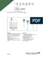 Tdbfp Level Transmitter