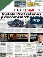 Periódico Norte edición impresa día 17 de enero 2014