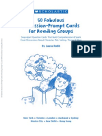 50 Fabulous Discussion-Prompt Cards for Reading Groups