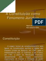 A Constituição como Fenómeno Jurídico power point