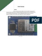 shuncom wifi to rs232 module