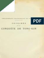 Origines de la conquête du Tong-kin - Part1