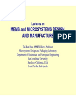 Overview of MEMS and Microsystems