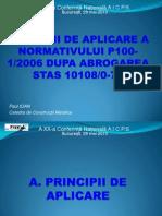 Principii de Aplicare a P100