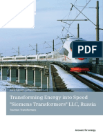 Traction Transformers Llc Russia En
