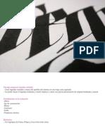 Encargo Rotulacion Logo Tipografico