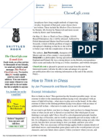 (eBook-PDF) - How to Think in Chess