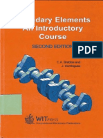 Boundary Elements an Introductory Course - Brebbia and Dominguez