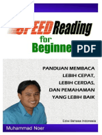 Speed Reading for Beginners.