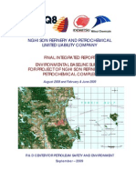 Environment Baseline SURVEY report for Nghi Son Refinery Petrochemical Complex
