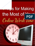 7 Tips for Making the Most of Your Online Work Time