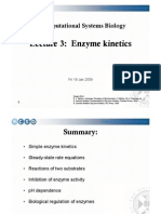 CSB Lecture Enzyme Kinetics
