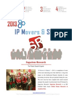 Intellectual Property Movers and Shakers 2013