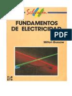 Fundamentos de Electricidad, (Schaunm) Gussow, Milton