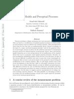 Collapse Models and Perceptual Processes - G.C. Ghirardi, R. Romano
