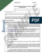 Bocconi Scholarship GRADUATE Acceptance Form 2014 15 Example