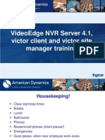 VideoEdge_NVR_Training_4.01(Aligns With D0 Manual)