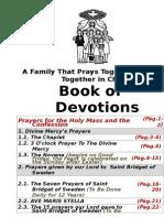 EN - Book of Catholic Devotions .DOC