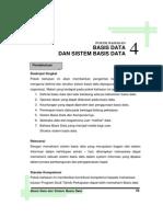 Pokok Bahasan 4 Basis Data Dan Sistem Basis Data