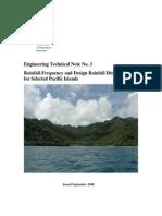 Rainfall Freq Dist Pacific Islands