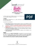 Tour Barbie 2012