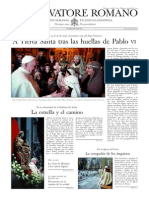 L´OSSERVATORE ROMANO - 10 Enero 2014