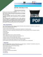 Ultrasonic Portable Type