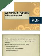 Presentation (Amino Acid & Protein)