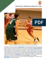 Previa Meridiano Baloncesto Baza - Almería Basket 18-01-2014 18.30h