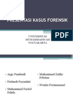 Presentasi Kasus Forensik Umy 2006