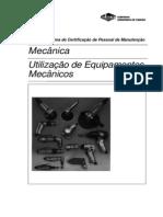 1 - UTILIZAÇÃO DE EQUIPAMENTOS MECÂNICOS